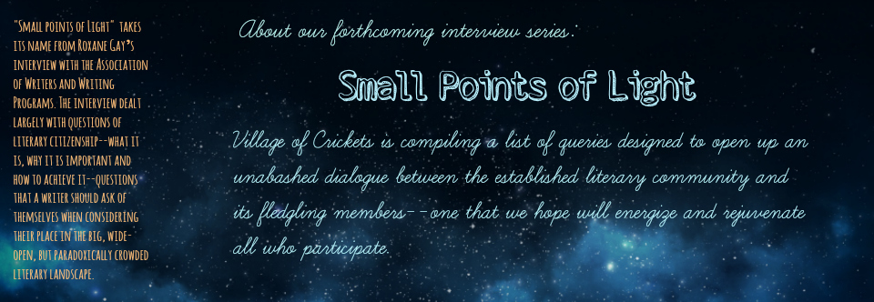 Coming Soon… Small Points of Light