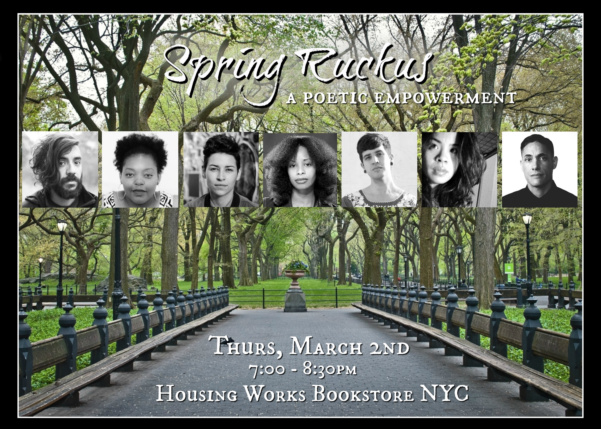 Spring Ruckus: A Poetic Empowerment