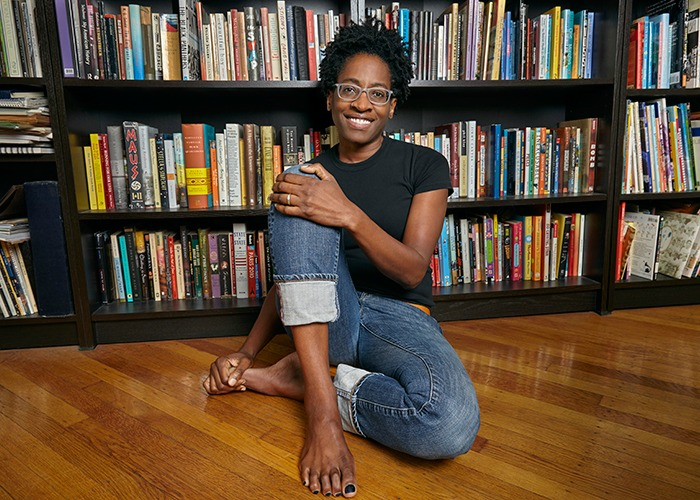 Jacqueline Woodson at Adelphi University