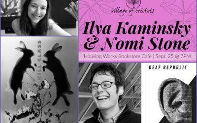 Ilya Kaminsky & Nomi Stone